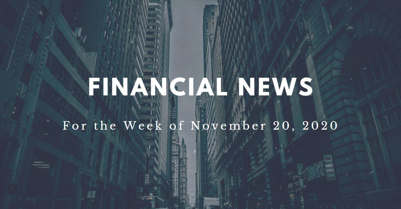 Financial News- November 20, 2020