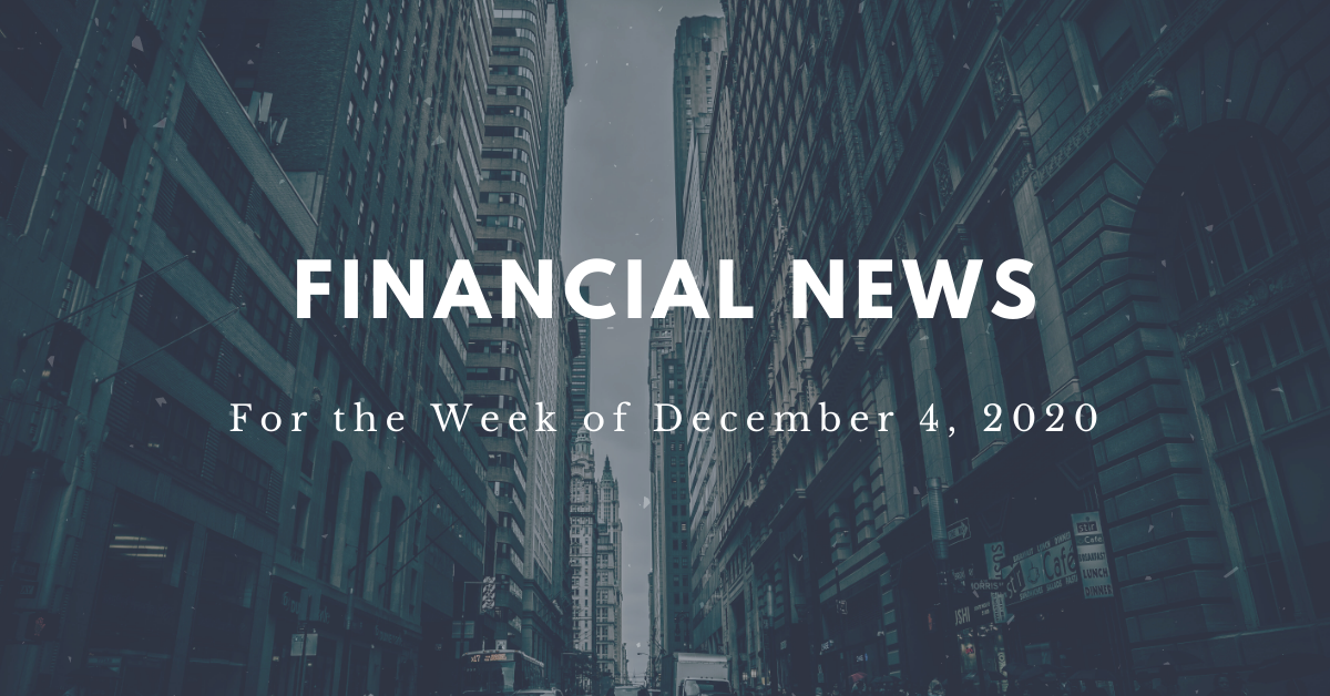 Financial News- December 4th 2020